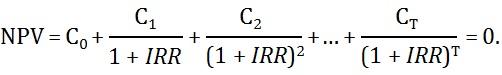 внутренняя норма доходности, внутренняя норма доходности это, что такое внутренняя норма доходности, irr, значение irr, коэффициент irr, как рассчитать внутреннюю норму доходности, формула внутренней нормы доходности, норма доходности