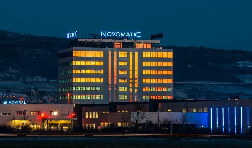 Игровые автоматы Novomatic: всегда в ногу со временем
