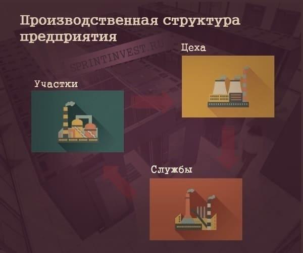 Производственная структура промышленного предприятия