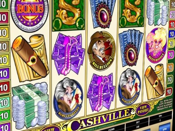Сюжет игрового автомата «Cashville»