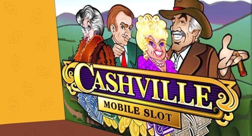 Игровой автомат «Cashville»: излюбленная приманка от казино «Вулкан ВИП»
